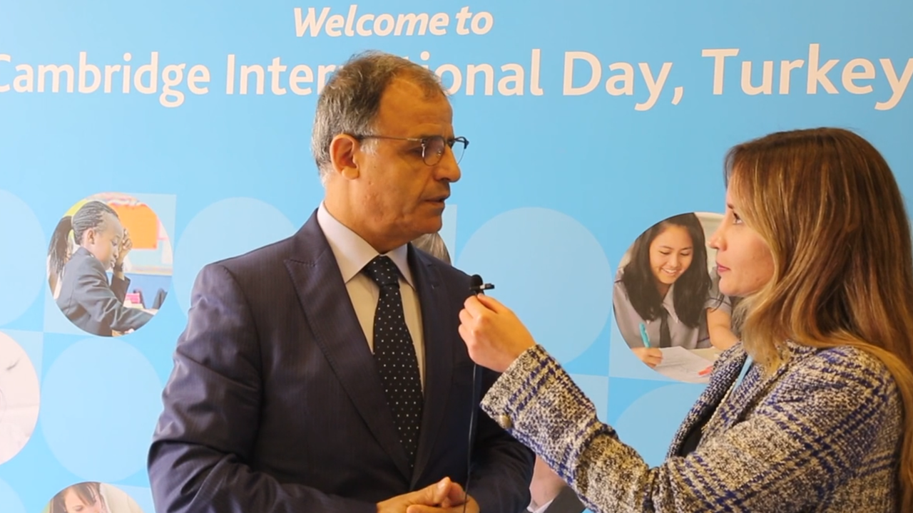Interviews with Cambridge International Day Guests