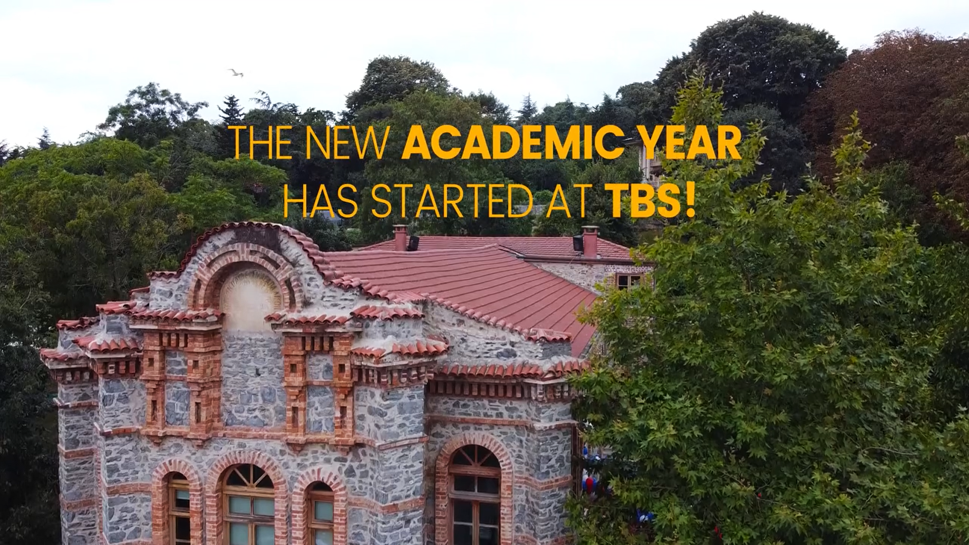 The New Academic Year Has Started at TBS!