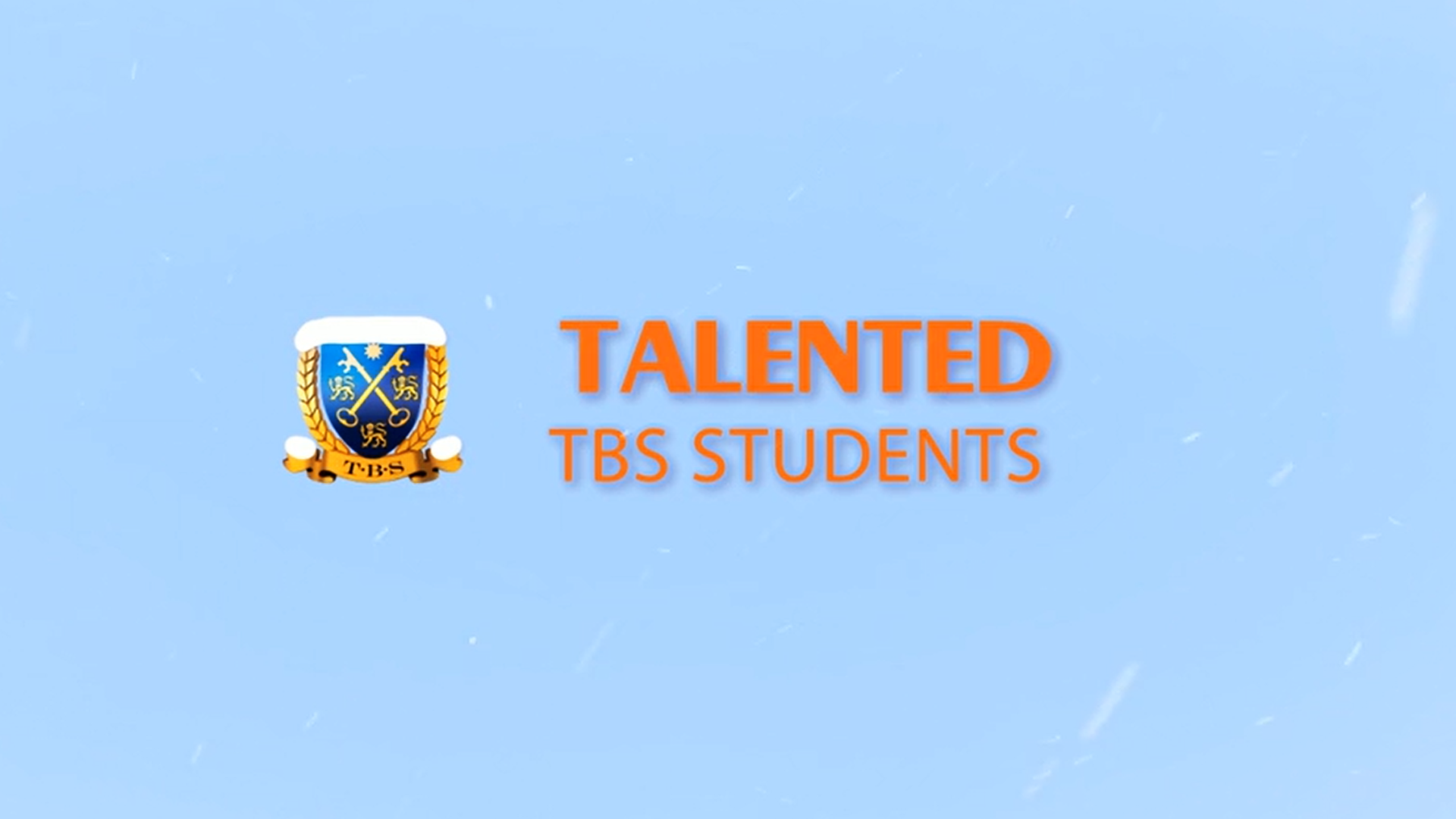 Talented TBS Students 2020